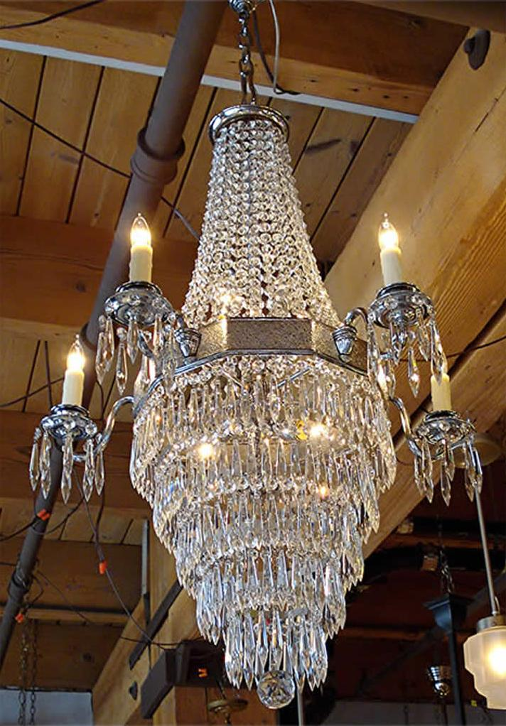 Antique Chandelier Light Lighting Parts Fixtures