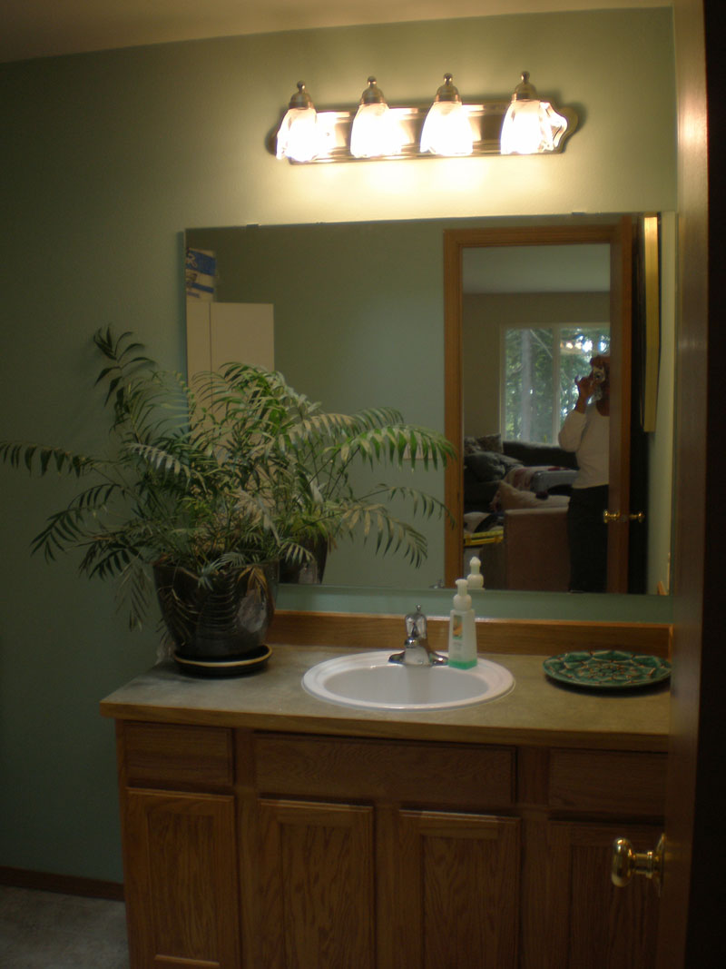 Bathroom light nickel On WinLights.com | Deluxe Interior Lighting Design