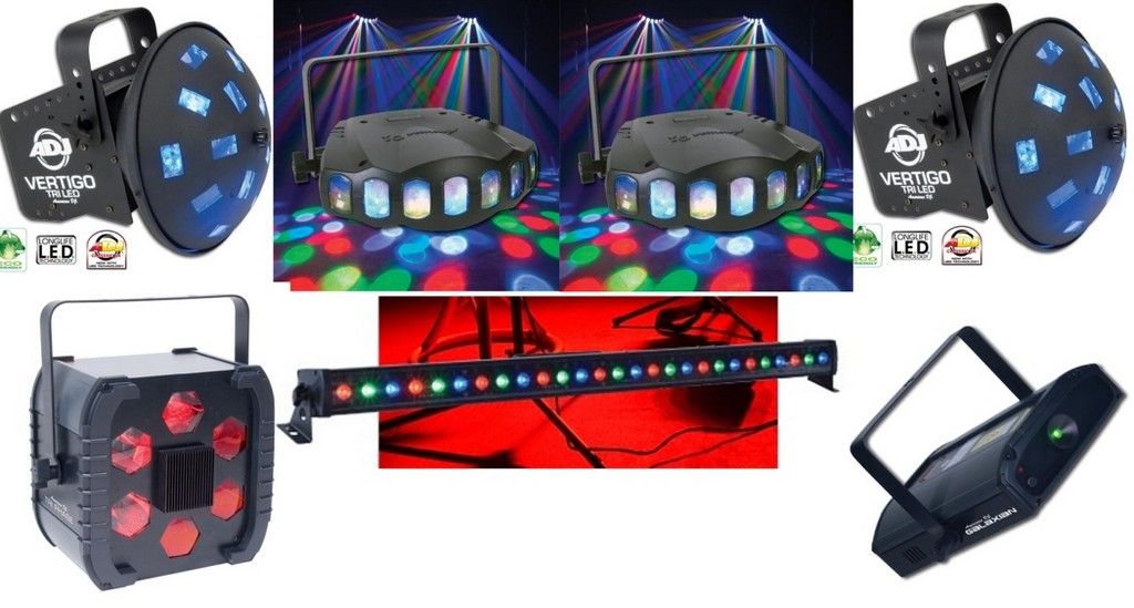 Dj Lighting Equipment Color Beacons On Winlights Com