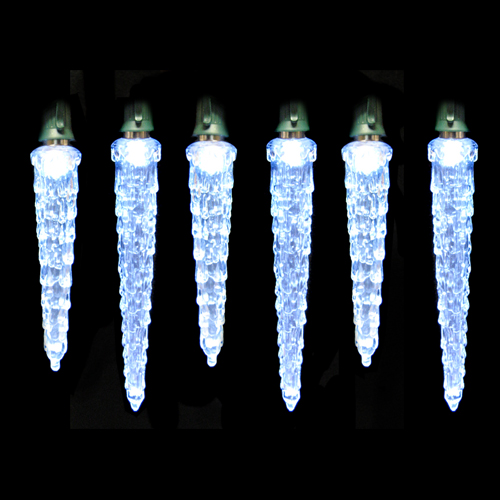 Color Changing Icicle Lights On Winlights Com Deluxe