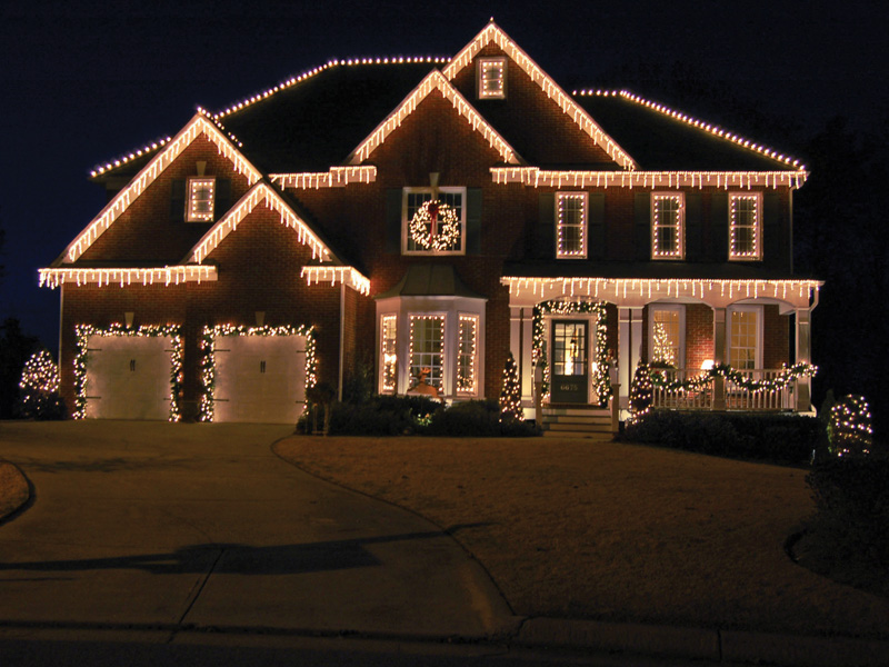 Icicle Lights Outdoor On Winlights Com Deluxe Interior