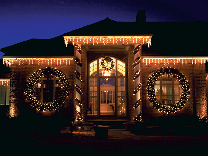 Outdoor Icicle Lights White Led