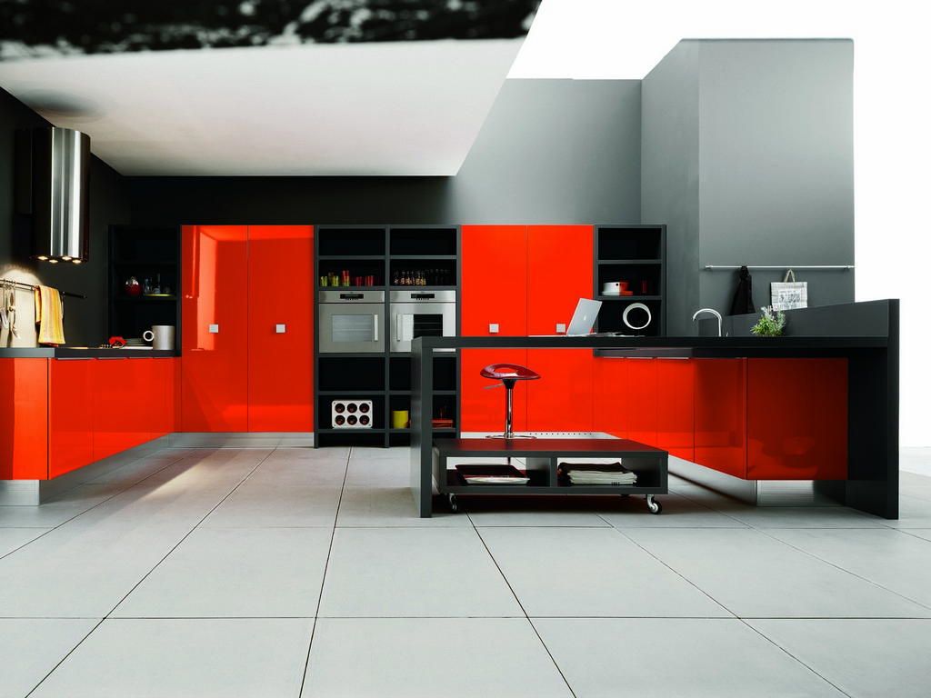 kitchen canned lighting red and gray kitchen design architecture awesome kitchen design idea red