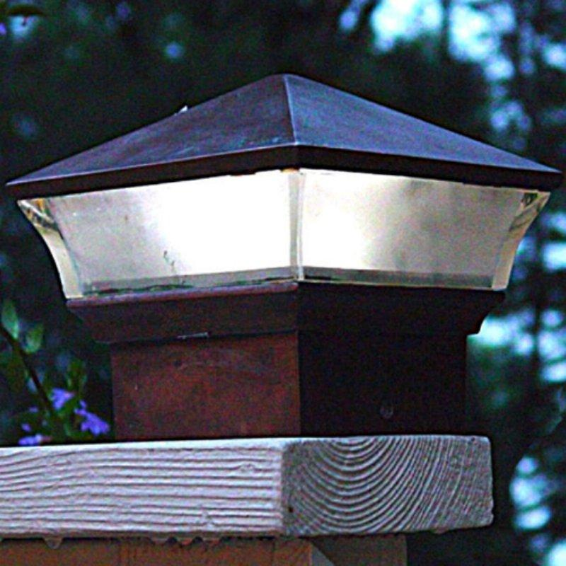 solar powered landscape lighting on deluxe