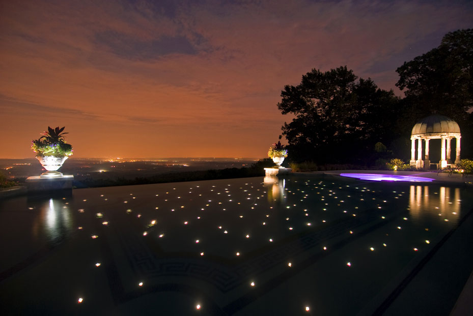 In ground swimming pool lights on deluxe interior lighting design - Swimming pool lighting design ...