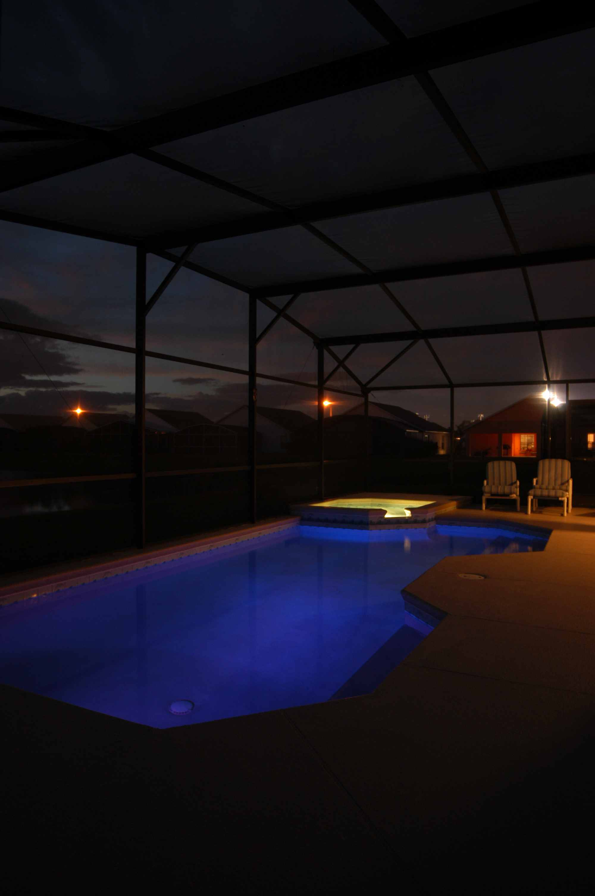Swimming Pool Fixtures : Above ground swimming pool light on winlights deluxe