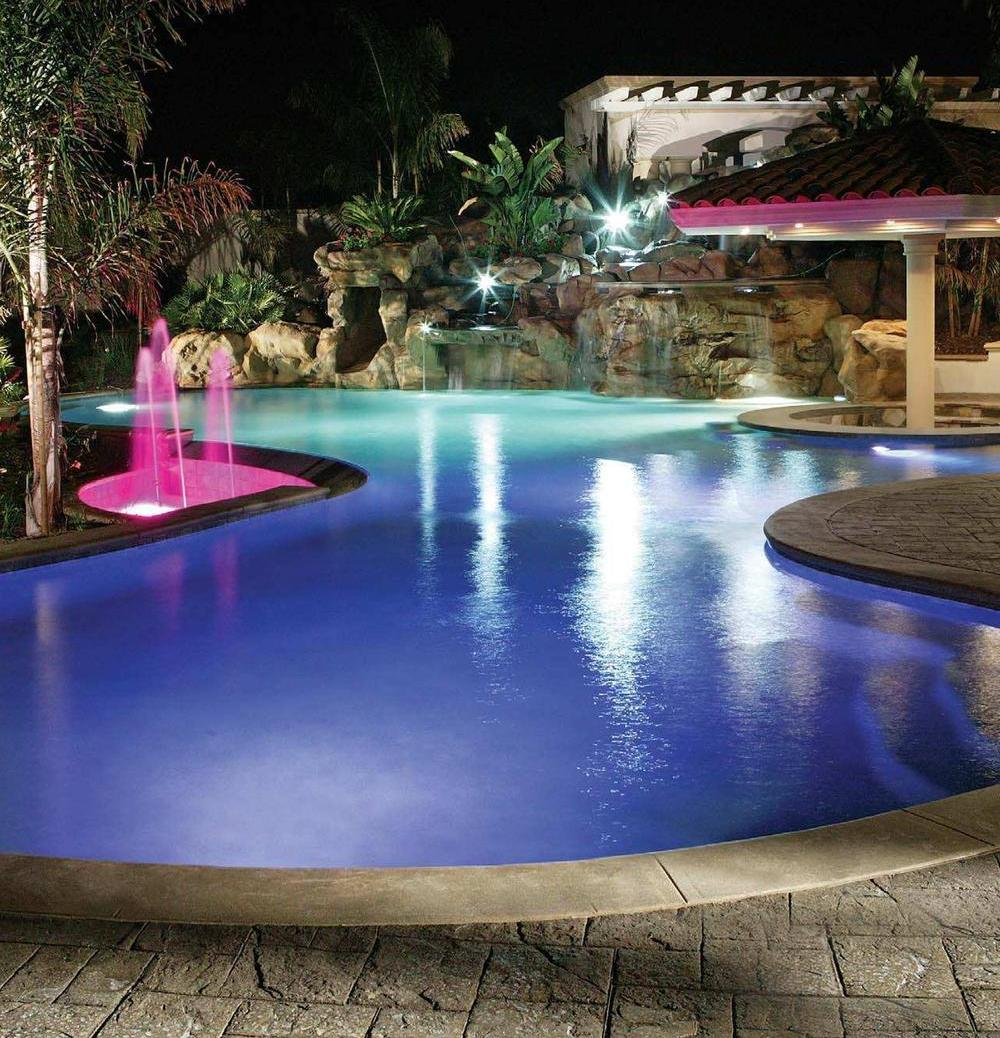 Pentair Pool Lights On Deluxe Interior Lighting Design
