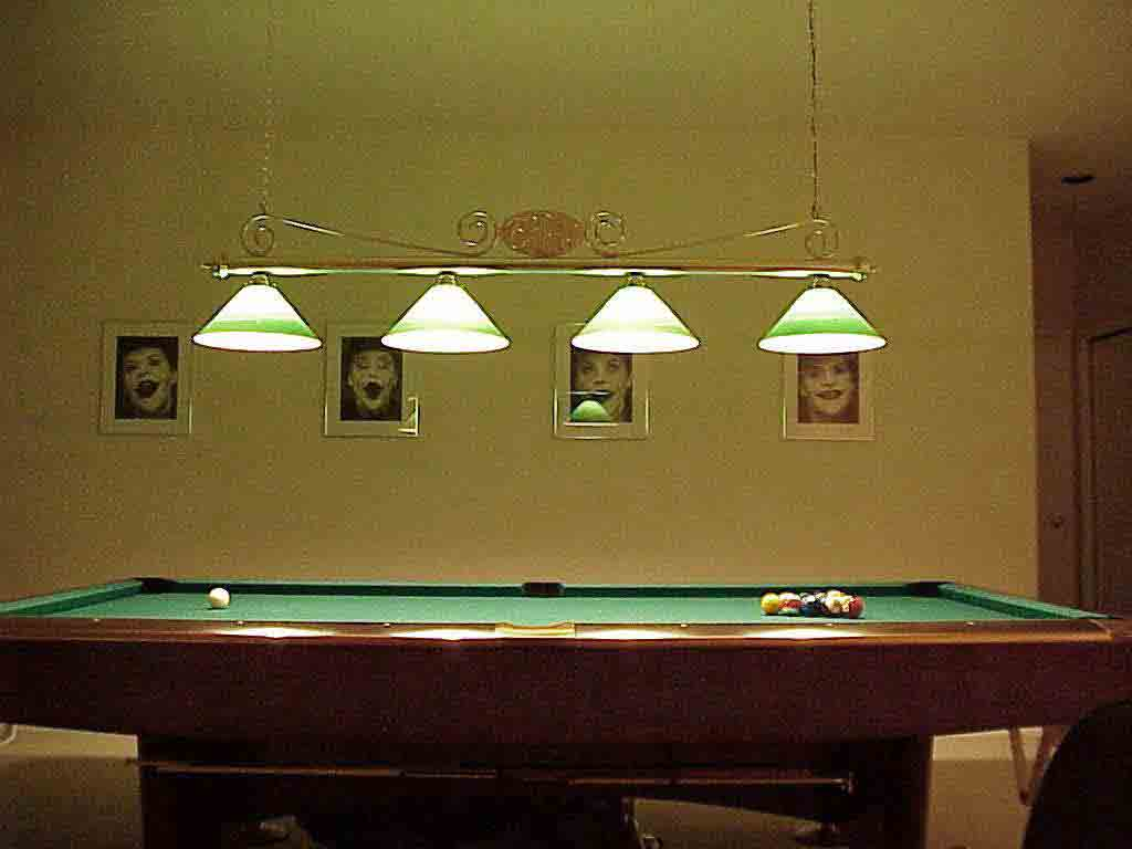 Used Pool Table Lights Designs