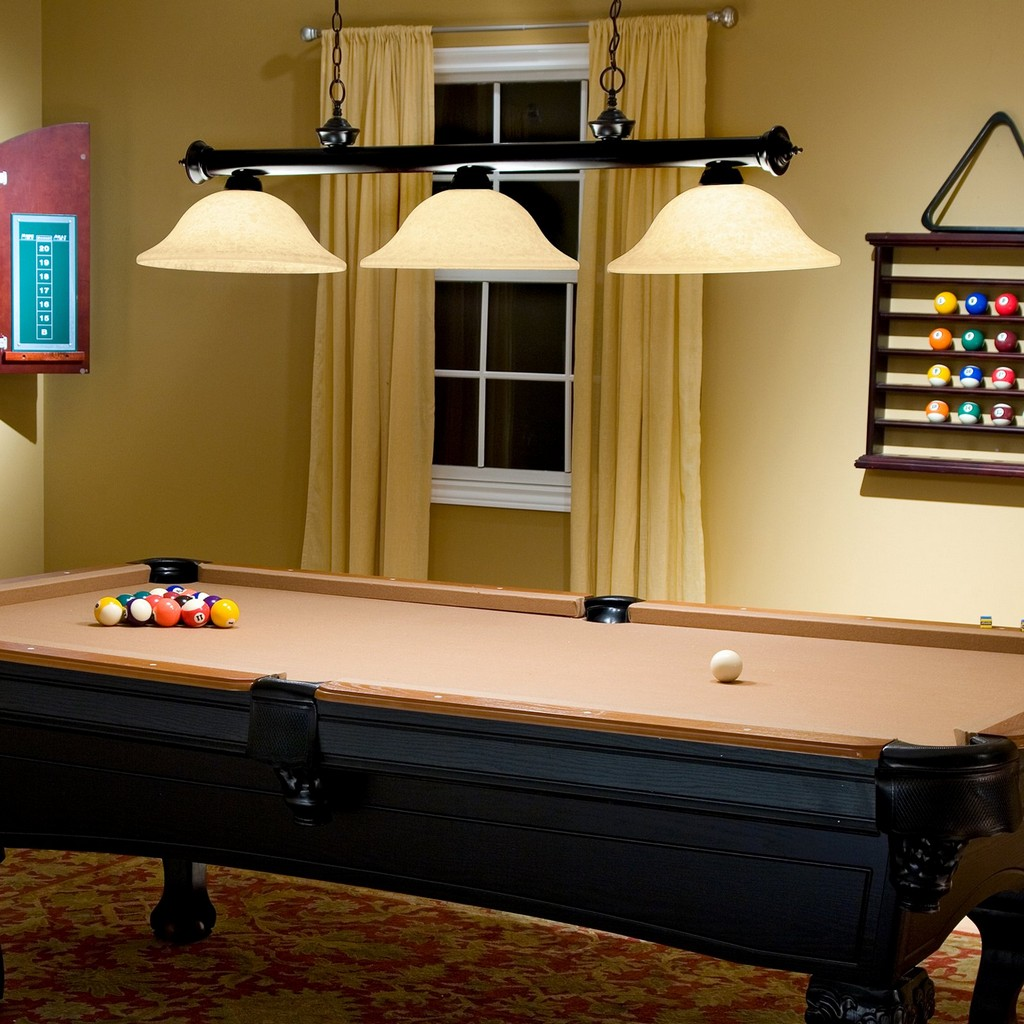 Pool Table Billiard Lights On WinLights.com
