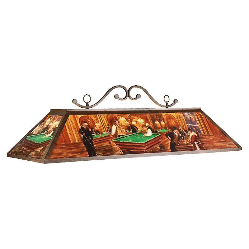 Pool Table Lights Stained Glass @BBT.com