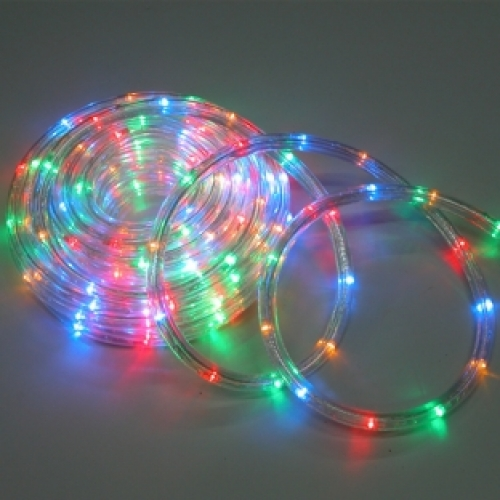 Multi Colored Rope Lights On Winlights Deluxe Interior