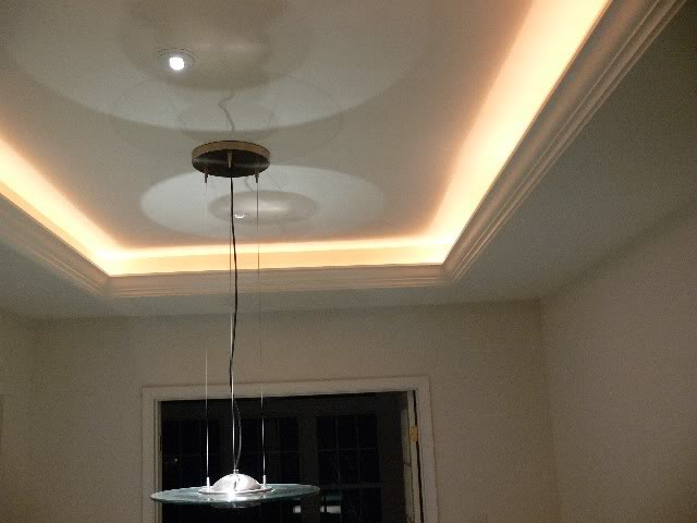high angle ceilings lighting ideas - Chasing rope lights WinLights