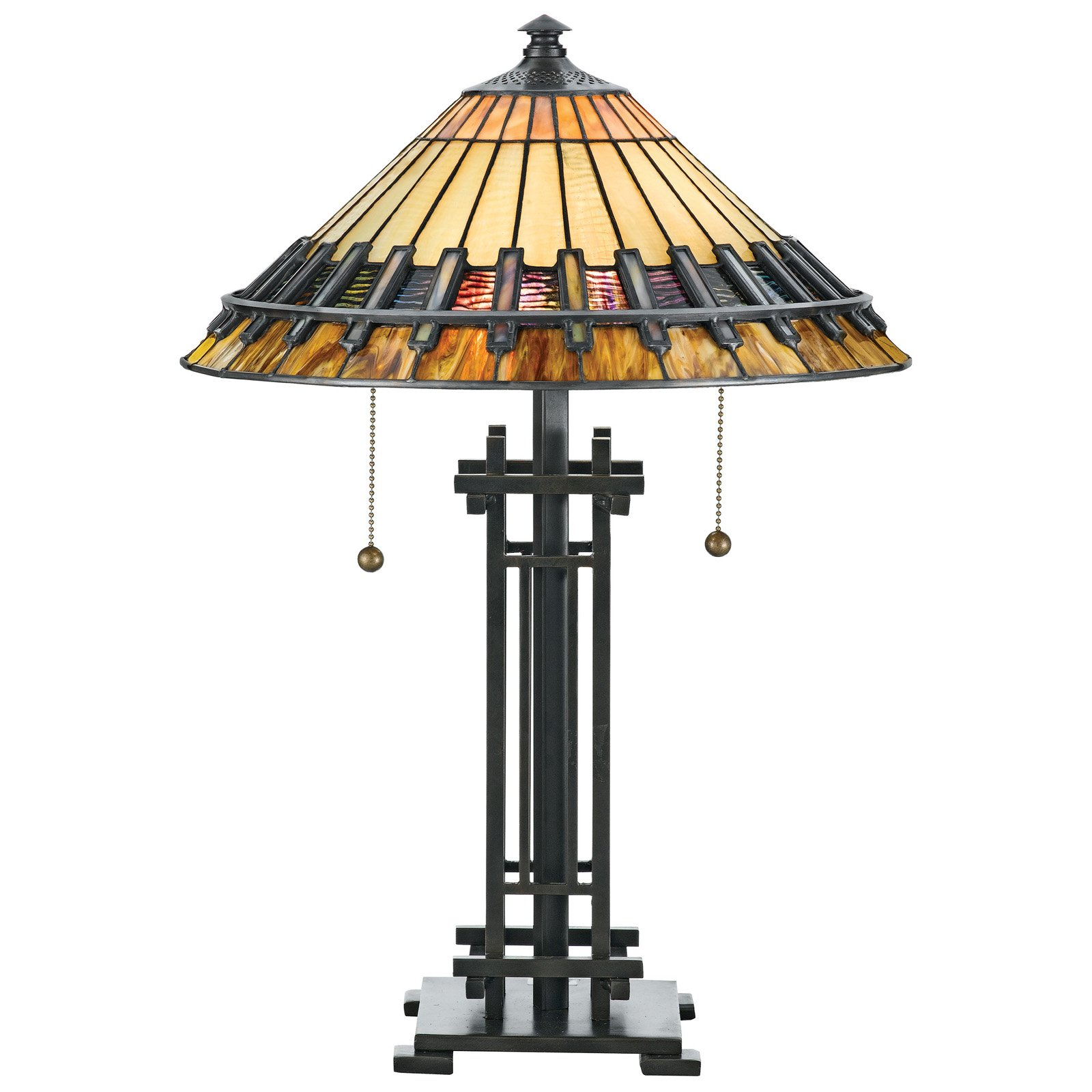 Chandelier Tiffany Lamps Lighting Ceiling Fans On